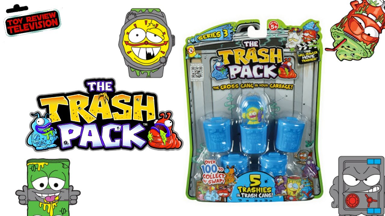 About The Trash Pack Playsets This Year