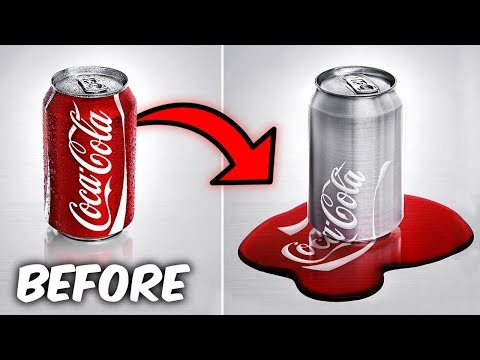 MAKE ANY OBJECT MELT TRICK!  It Actually Works