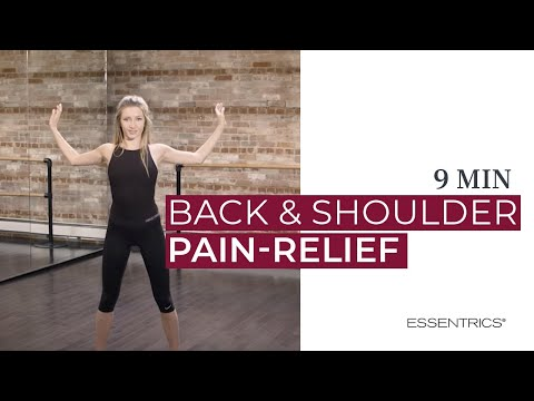 10 min Essentrics Upper Back and Shoulder Pain Relief Exercises
