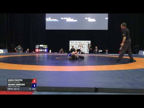 58 RR Rnd 3 - Jessica Philippus (United Training Center) vs. Breanna Stikkelman (United Training ...