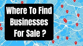 Where To Find Businesses For Sale