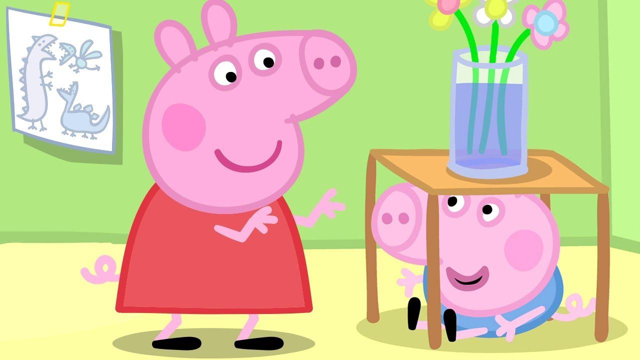 Peppa Pig 🎀 Sayılar - Yetenek Günü 📚 3 bölümün hepsi   Karışık çizgi filmler