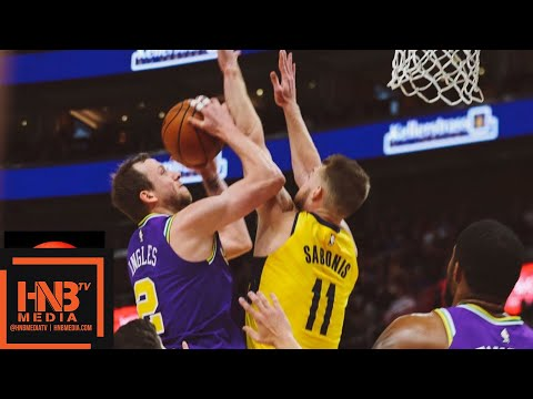 Indiana Pacers vs Utah Jazz Full Game Highlights | 11.26.2018, NBA Season