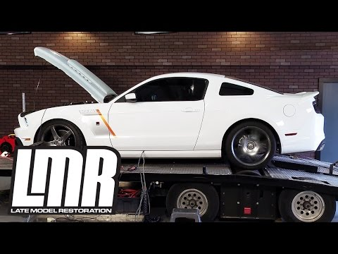 Roush Supercharged Mustang Dyno (5.0L 2014 GT) - Late Model Restoration