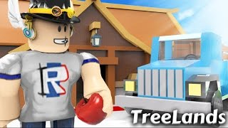 BUILDING A TREE HOUSE IN ROBLOX?!?!?!? (Sry i forgot my voice