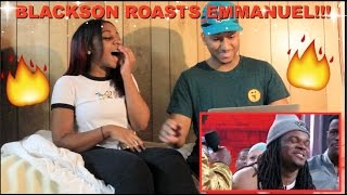 Couple Reacts : Wild 'N Out Michael Blackson & DC Young Fly Roast Everyone Reaction!!!