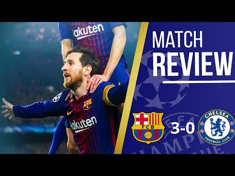 Chelsea 0 - 3 BARCELONA 2nd Leg  MATCH REVIEW || We didn't deserve this result || Tactical Analysis