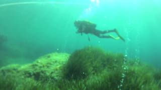 Scuba diving: Alcudia, Mallorca using a Go pro Hero 2