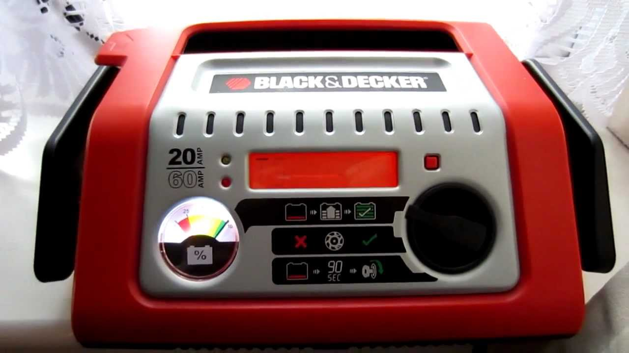 Black&Decker Battery Charger BDSBC20A (BDSBC25A BDSBC30A) Charging process - YouTube