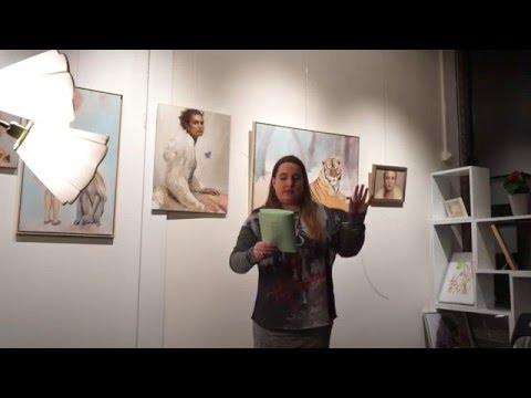 Alexandra Luthander@Ordanvind Gröndals Bibliotek [09/12-2015]