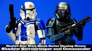 """Star Wars Black Series 6/"""" Shadow Stormtrooper Force Unleashed Exclusive New"""