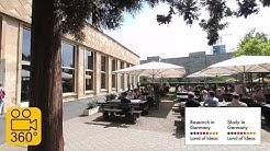 In 360°: University dining hall