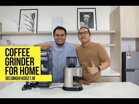 Delonghi KG521 Coffee Grinder   REVIEW JUJUR