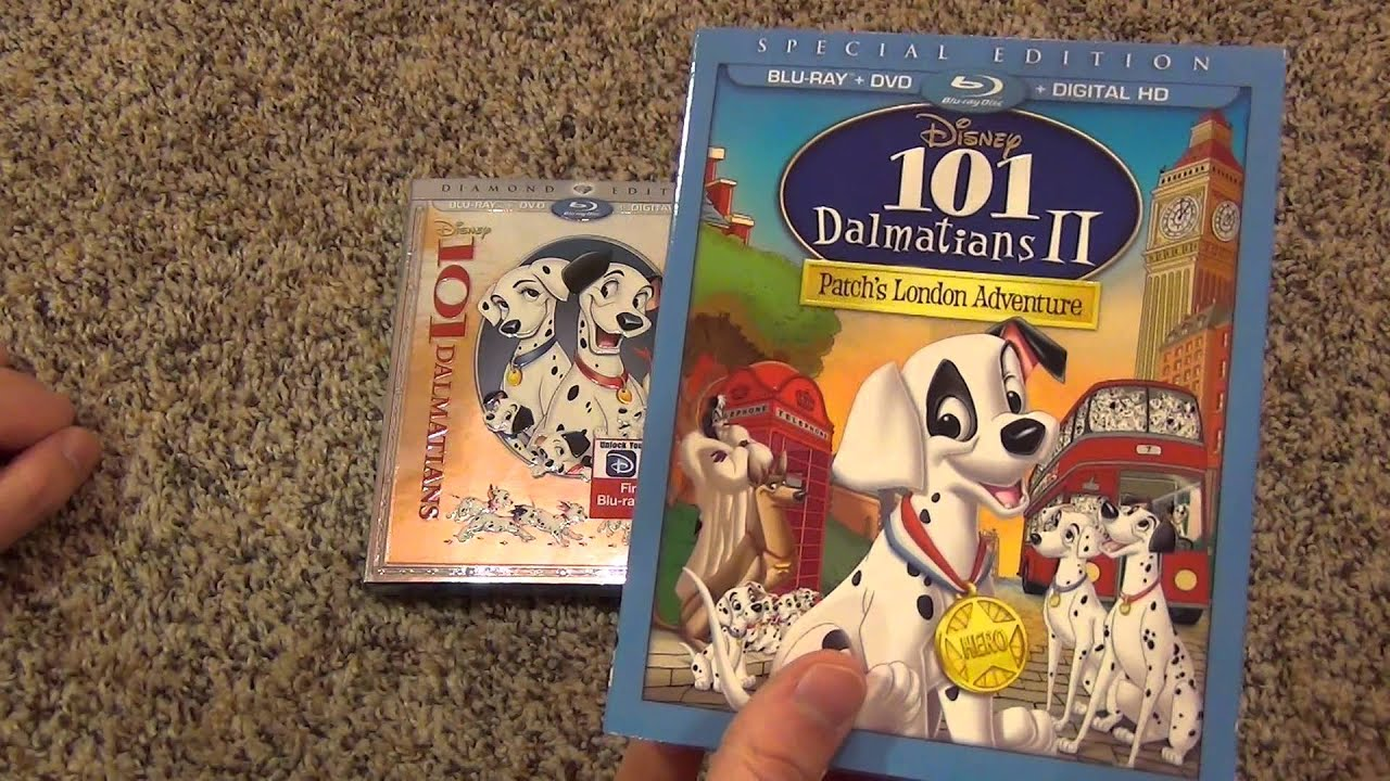 101 Dalmatians Diamond Edition Dvd