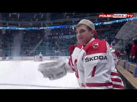 Turniej prekwalifikacyjny. Kazachstan - Polska 2-3. Skrót wideo