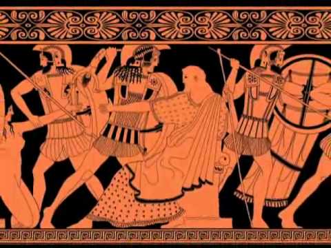 Greek Studies Vase Paintings Telling Stories With Pictures Youtube