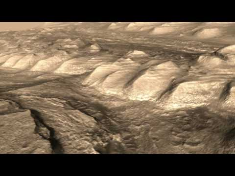 Gale Crater - HiRISE DEM Animation