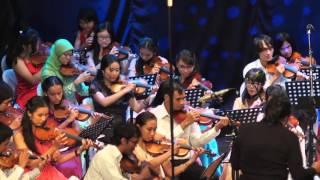 Klasik Asik 2015 String Orchestra - lagu penutup