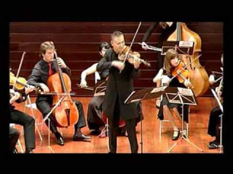 Sphera AntiQva y Hiro Kurosaki. Mendelssohn violin concerto