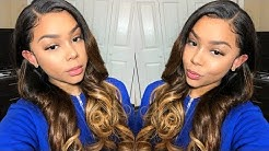 Bombshell Ombre Lace Front   OMGHERHAIR Wig Review