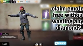 FREE EMOTE, Without wasting any diamonds, its our Gi...ay.