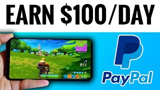 Earn $100 Per Day PLAYING VIDEO GAMES! (HOW TO MAKE MONEY ONLINE 2021)