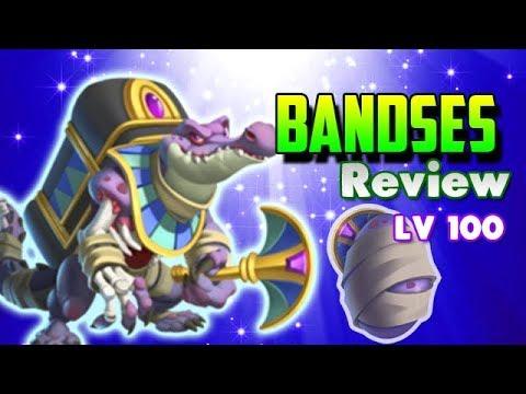 EL TERRIBLE FARAON BANDSES LV 100 !! - Review Monster Legends