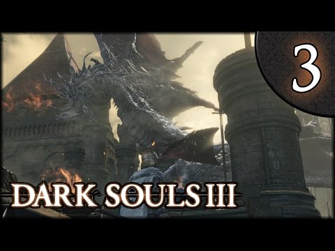 Let's Play Dark Souls 3 Gameplay Walkthrough (Herald) - Part 3: Dragon of the High Wall