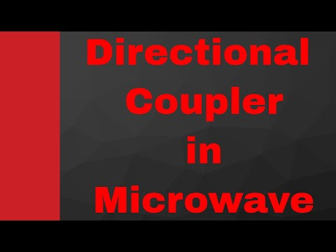 Directional Coupler in Microwave (Working, Internal Structure and Scattering Parameters), Wave Guide