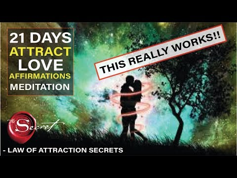 Affirmations Meditation to Attract Love INSTANTLY | Manifest While You Sleep! [Extremely Powerful!!]