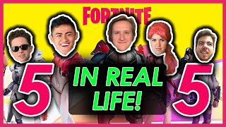 Fortnite In Real Life 5! (Ft. Ricky, Ava, Kevin, Kogan & Ian)