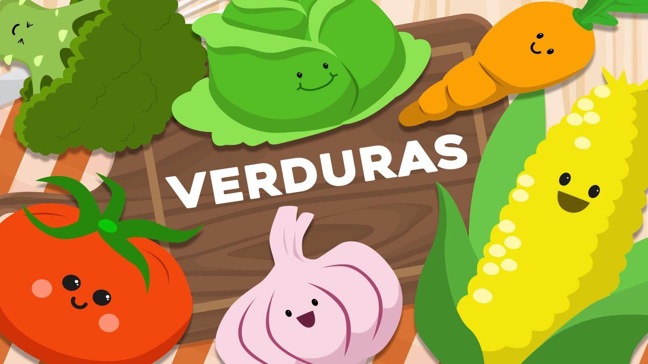 Las verduras en espa ol para ni os v deos infantiles - Cosas de manualidades para ninos ...