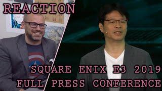 Reaction: Square Enix E3 2019 Press Conference (FULL)