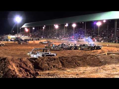 Cleveland County Fairgrounds Derby 2014 - Heat 1 (Old Iron)