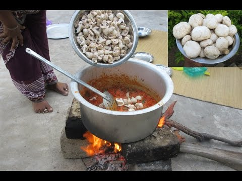 Nature Stove MUSHROOM BIRYANI Cooking in My Village | Perpared By My Mummy | VILLAGE FOOD