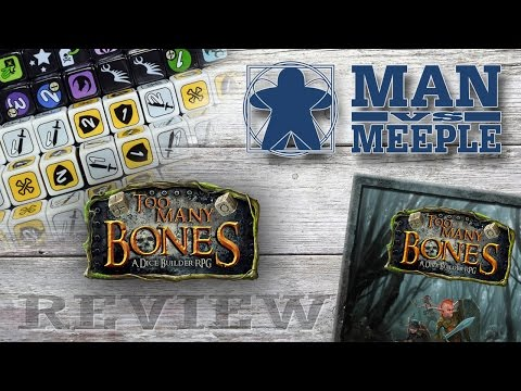 Too Many Bones (Chip Theory Games) Review by Man Vs Meeple