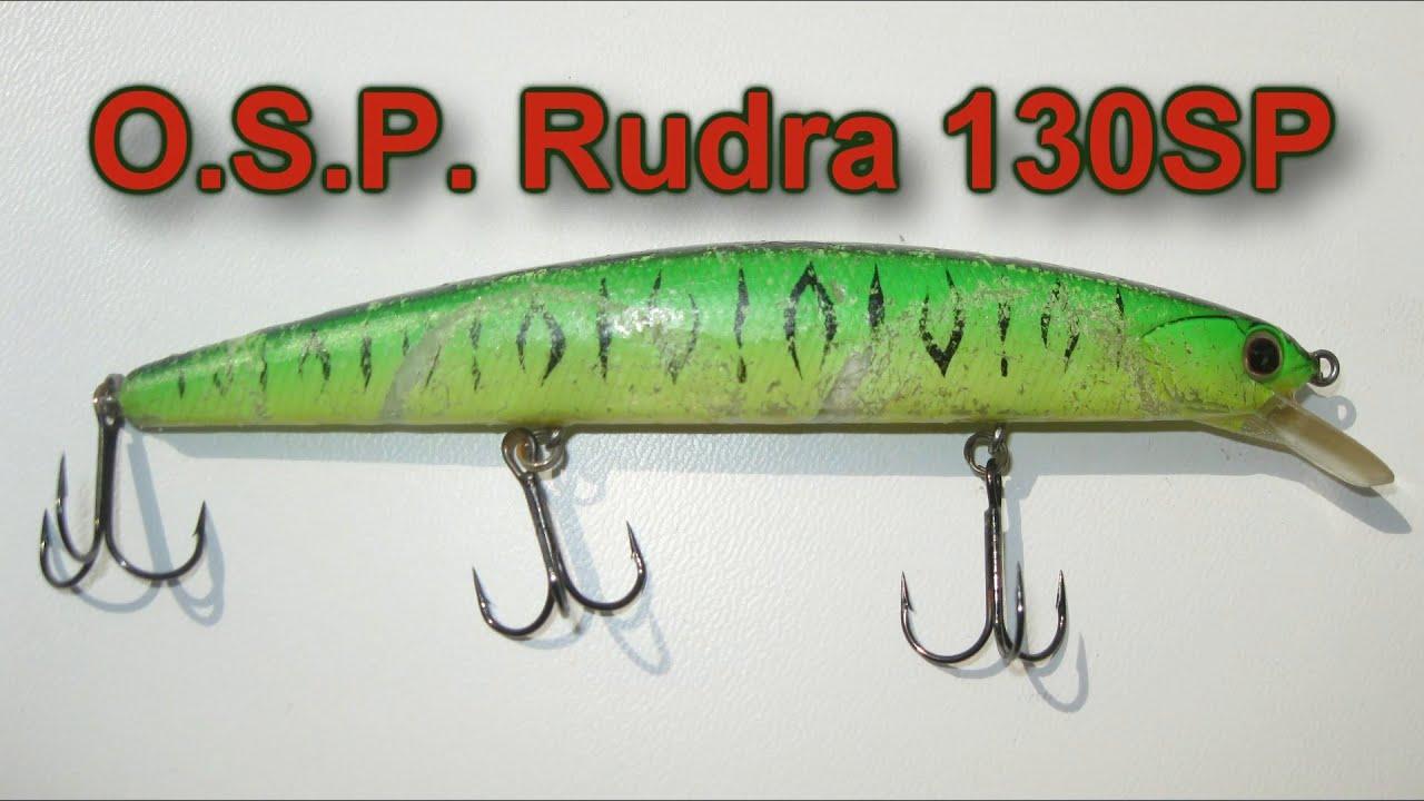 O.S.P. Asura Rudra 130 SP - полный обзор и проводка воблера!