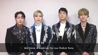SHINee Road To Dubai, SM Town Live World Tour VI Ini Dubai - Stafaband