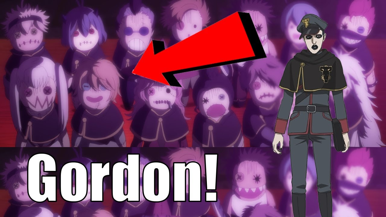 How Gordon Will Be Incredibly Important This Arc Black Clover Theory Youtube
