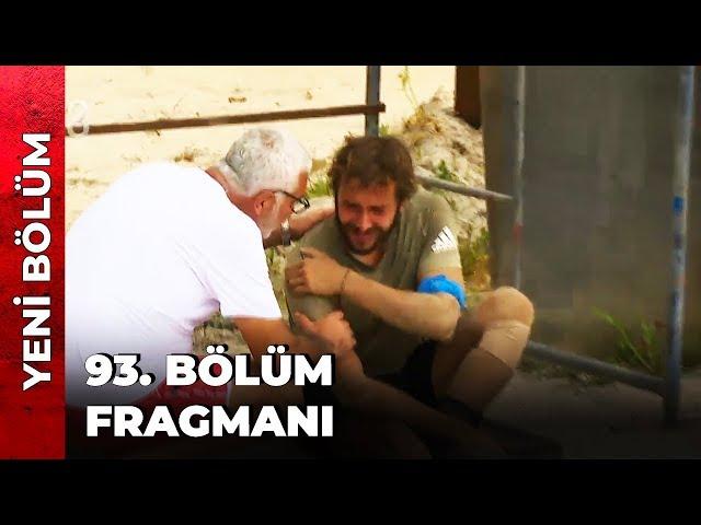 SURVİVOR 93. BÖLÜM FRAGMANI   CEMAL CAN SAKATLANDI! - Survivor Türkiye