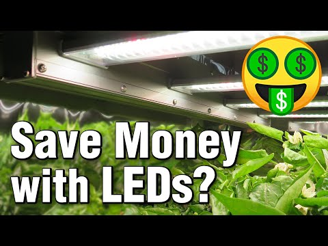 Electrical Savings: LEDs & High Efficiency Upgrades (Home & Grow Light Cost vs Payoff Calculator)