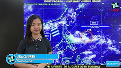 Public Weather Forecast Issued at 4:00 PM August 20, 2019