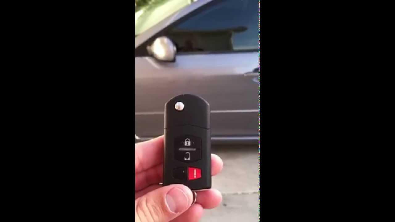 Mazda 6 Keyless Entry Reprogramming Key Fob Youtube
