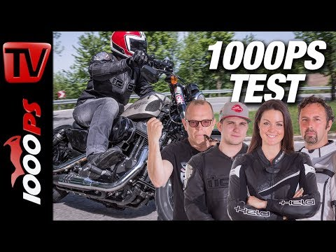 Harley-Davidson Forty-Eight Test - 1000PS Bobber Vergleich 2018