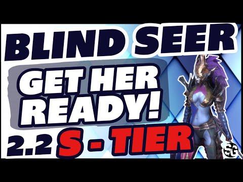 BLIND SEER NEW S -TIER 2.20 NEXT WEEK RAID SHADOW LEGENDS BLIND SEER BUILD MASTERIES SPEED RUNS
