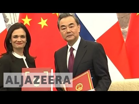 Panama cuts diplomatic ties with Taiwan in favour of China