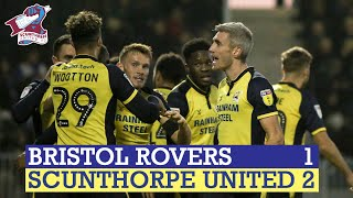 📺 Match Action: 2018-19: Bristol Rovers 1-2 Iron