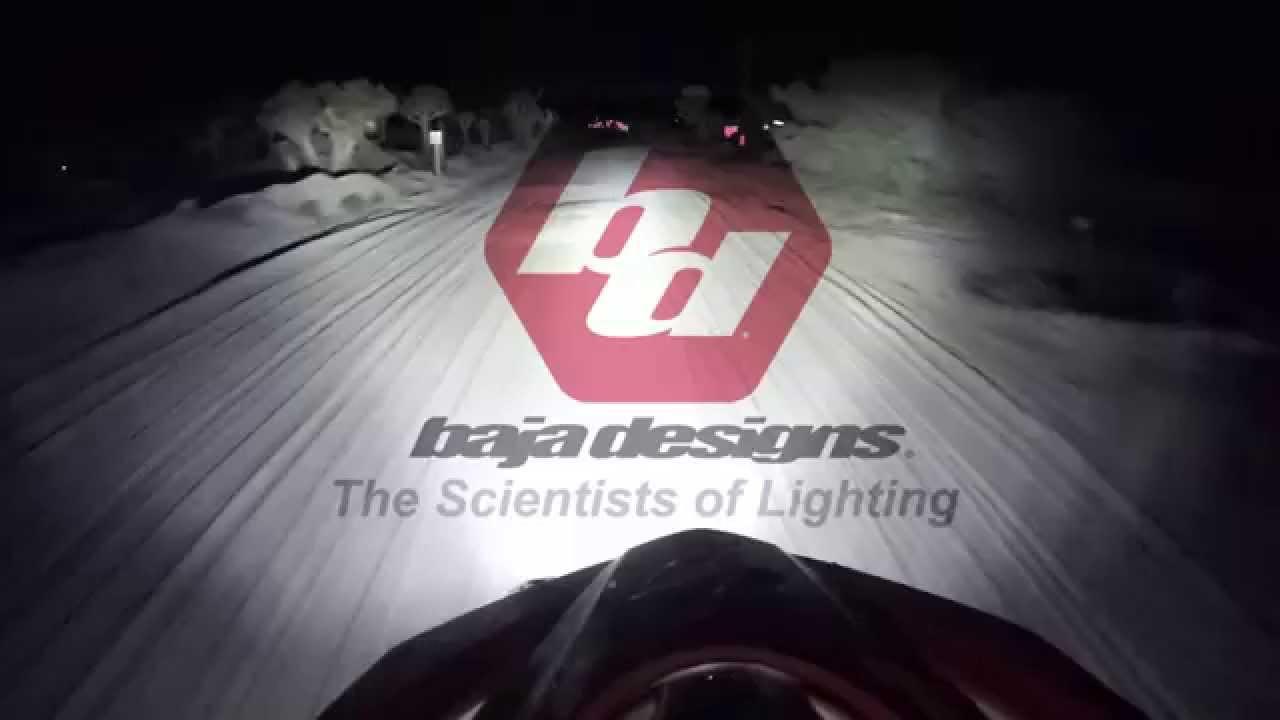 baja designs xl80/xl racer dual race light - youtube