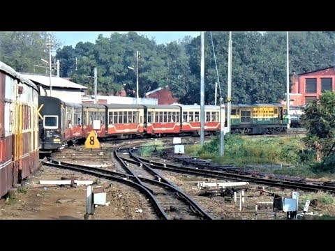 Shivalik deluxe express departing from Kalka station|| UNESCO world heritage site