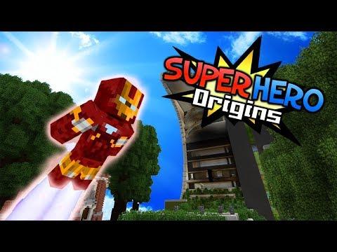 "SUPER HERO ORIGINS - ""IRON MAN SUIT"" (Minecraft Roleplay Survival) #9"